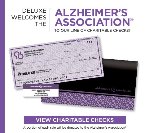 Write a check, support a cause.  View charitable check selections.