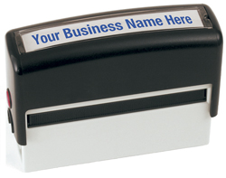 Self Inking Compact Size Name and Address Stamp