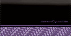 Alzheimer's Association - Leather Checkbook Cover