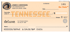 University of Tennessee check